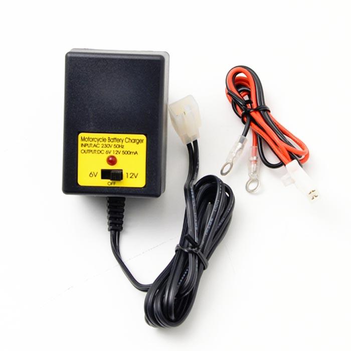 Φορτιστής μπαταρίας EMGO 84-15620 6v-12v 500mA για μοτό-atv-snowmobile EMGO 84-15620