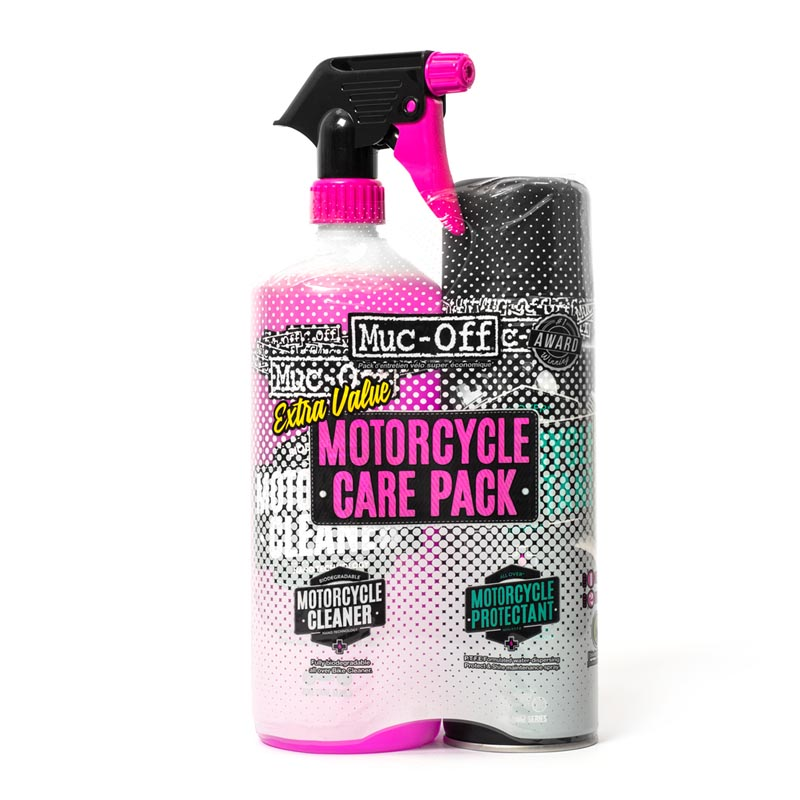 Muc Off Duo Care Kit Σετ Καθαριστικό Και Γυαλιστικό Μοτοσυκλέτας MUC-OFF MUCUNICLE08