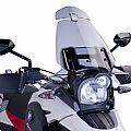 Προέκταση universal Spoiler Ζελατίνας Μοτοσυκλέτας Puig Ρυθμιζόμενη Λευκή PUIG