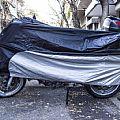 Κουκούλα μοτοσυκλέτας αδιάβροχη AC02 L 218x95x135cm ASIA